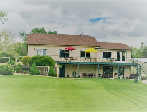 Image of the clubhouse at Elkhorn Valley Golf Club